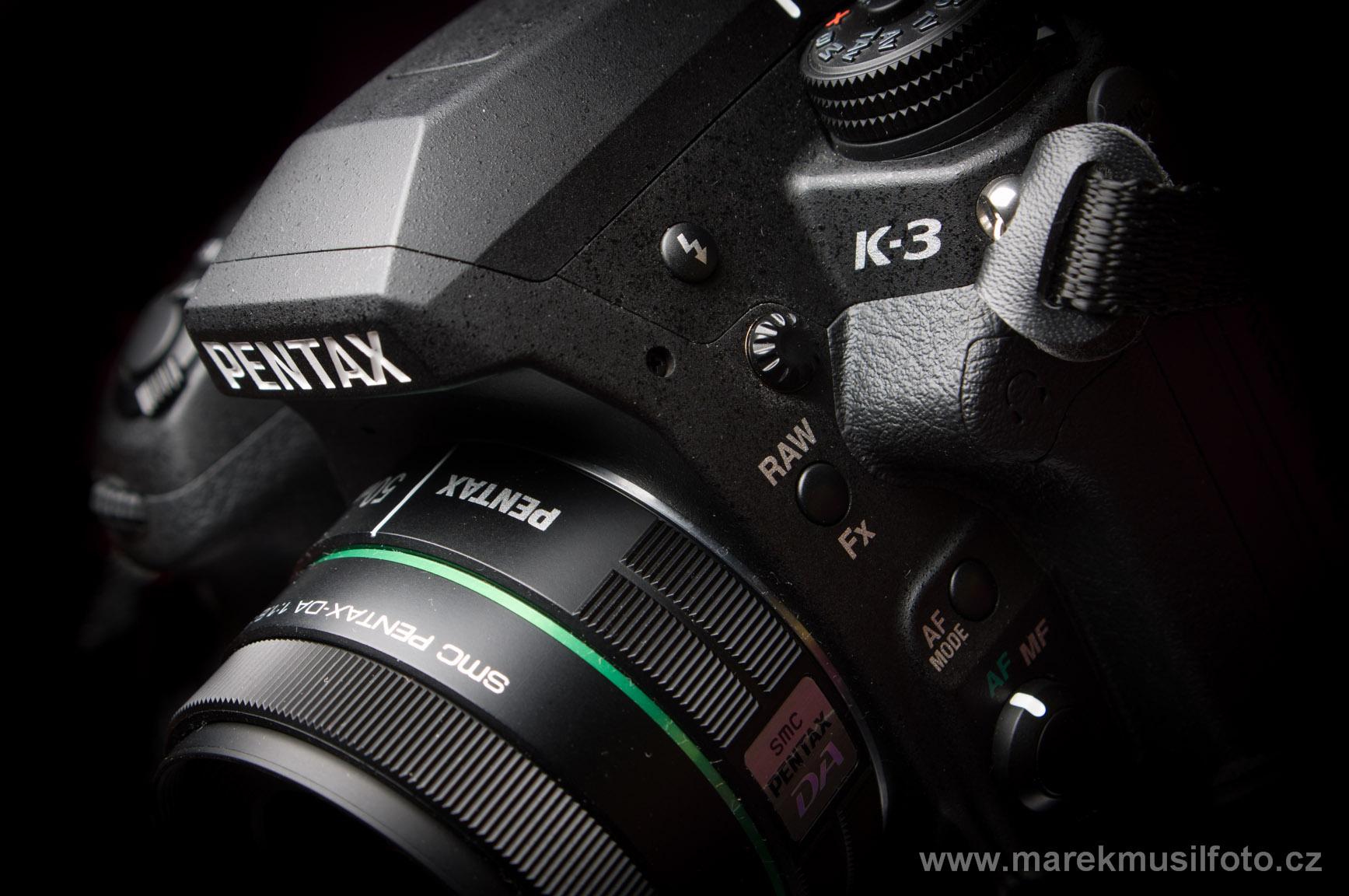 Pentax K-3 recenze