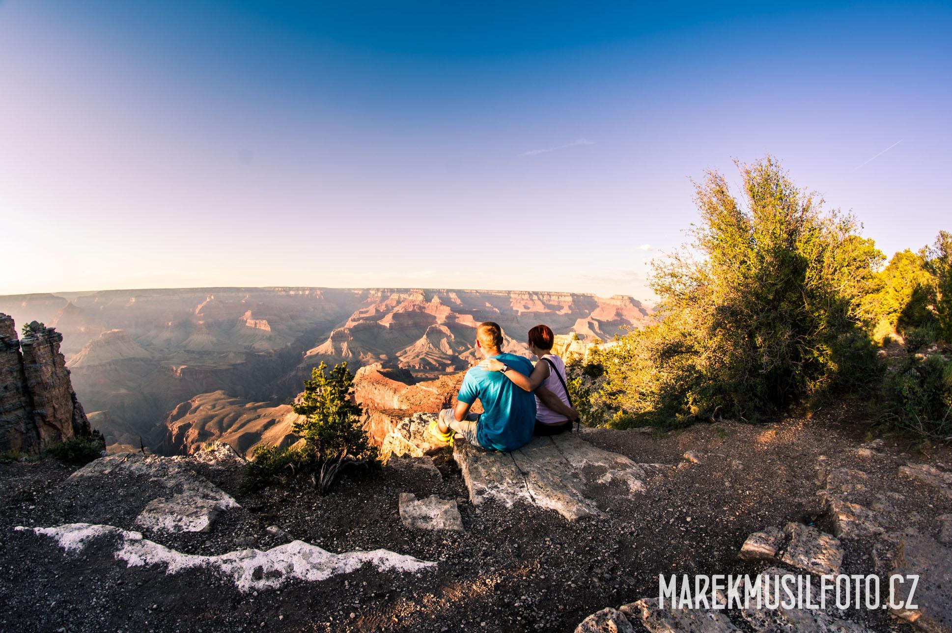 My u Grand Canyonu