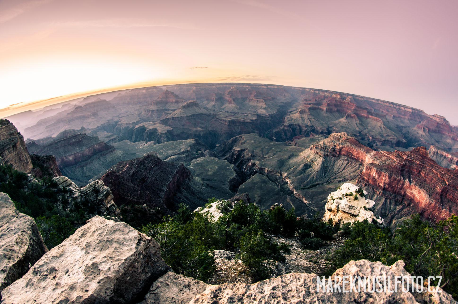 Cesta do Grand Canyonu