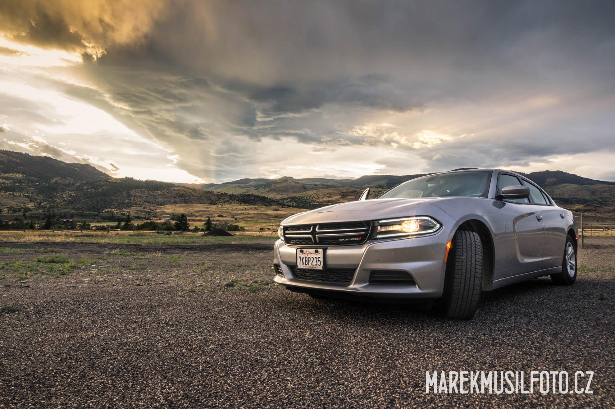 Cesta po USA - Yellowstone sunset