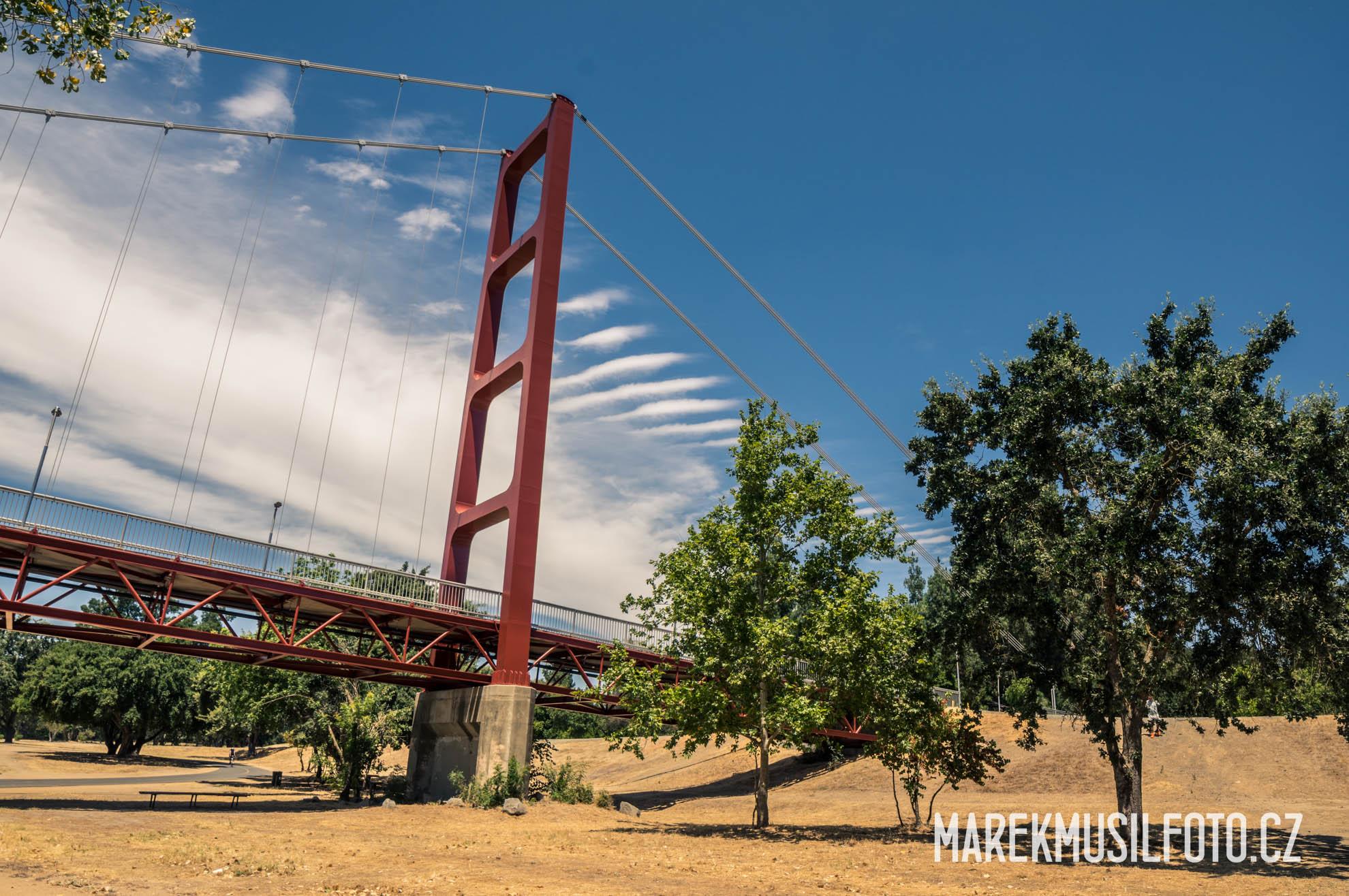 Cesta po USA - Sacramento Golden Gate Bridge