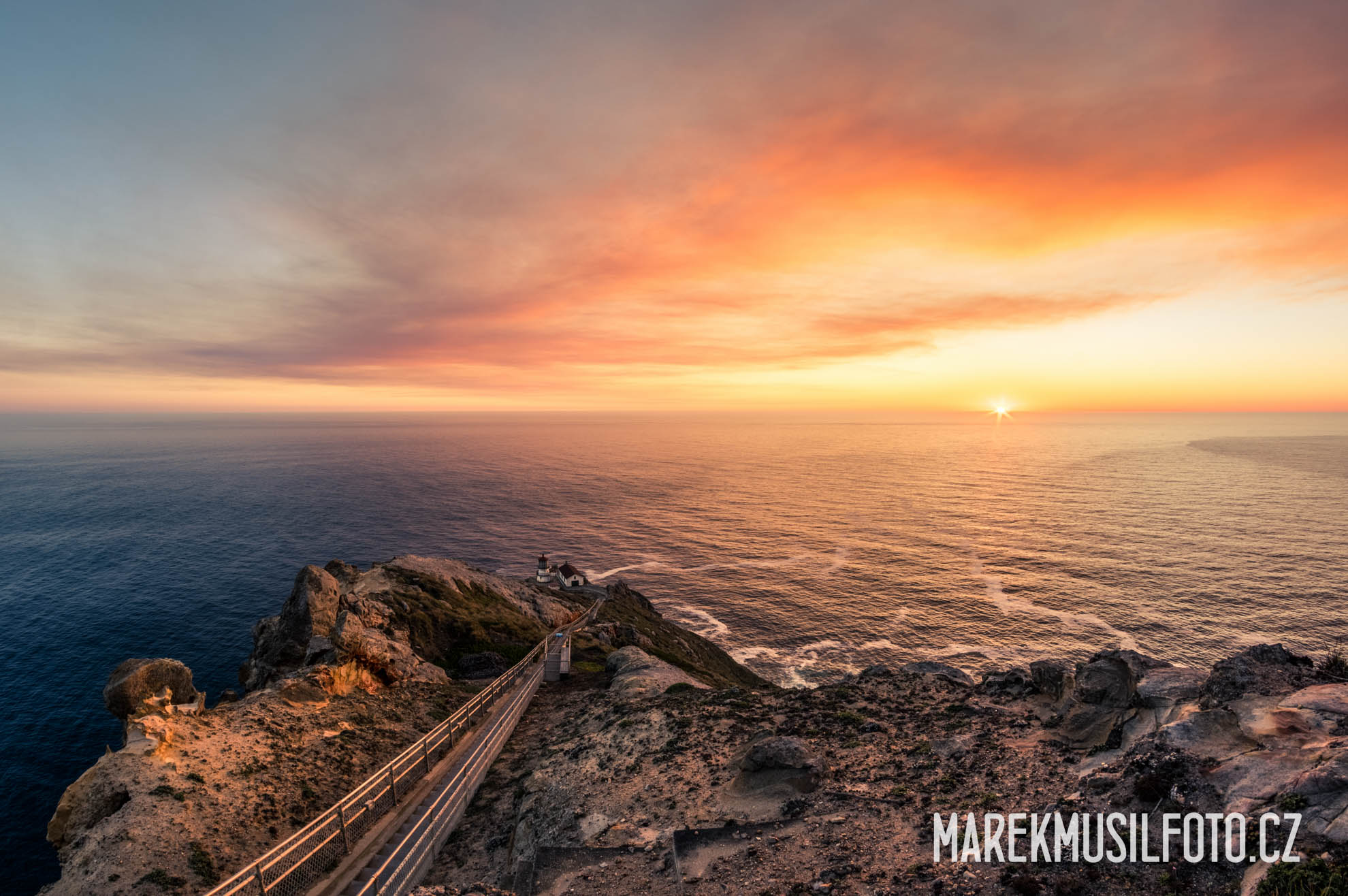 Cesta po USA - San Francisco Point Reyes Lighthouse