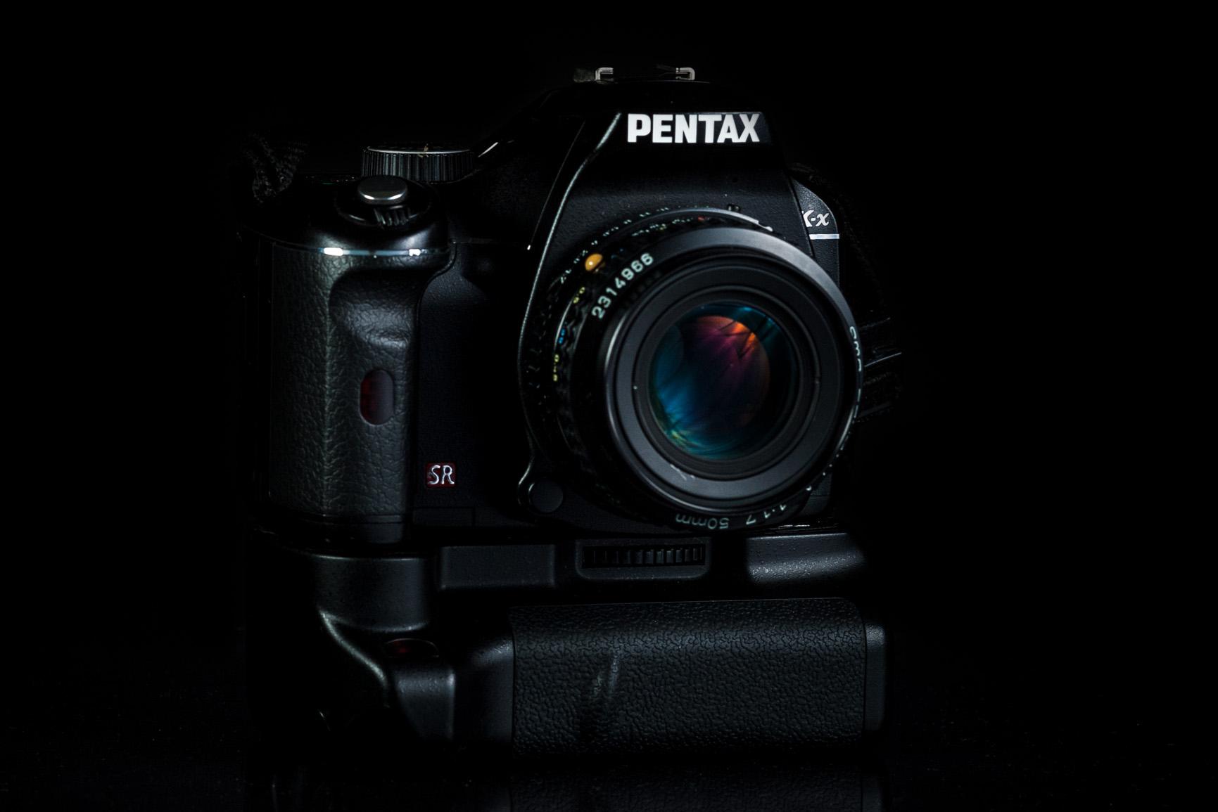 Pentax K-x grip