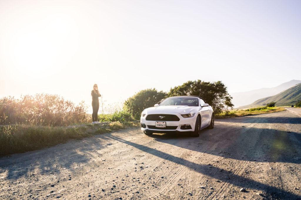 Blog z USA 2016 - Ford Mustang Convertible