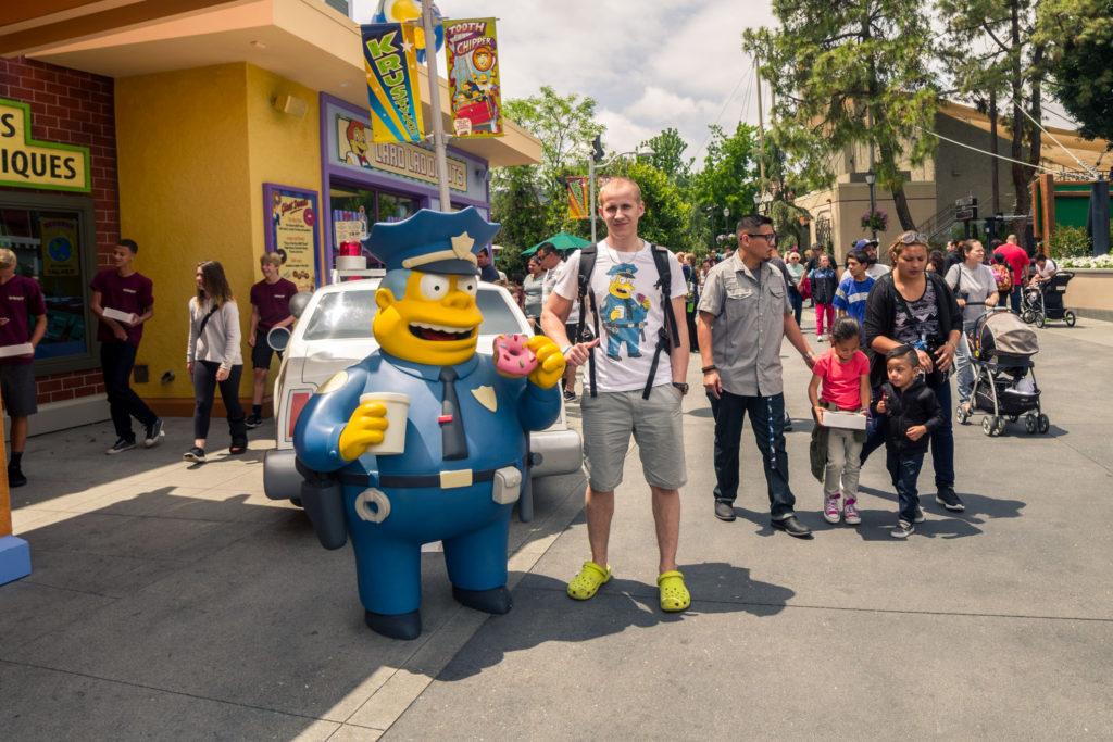 Blog z USA 2016 - Simpsons