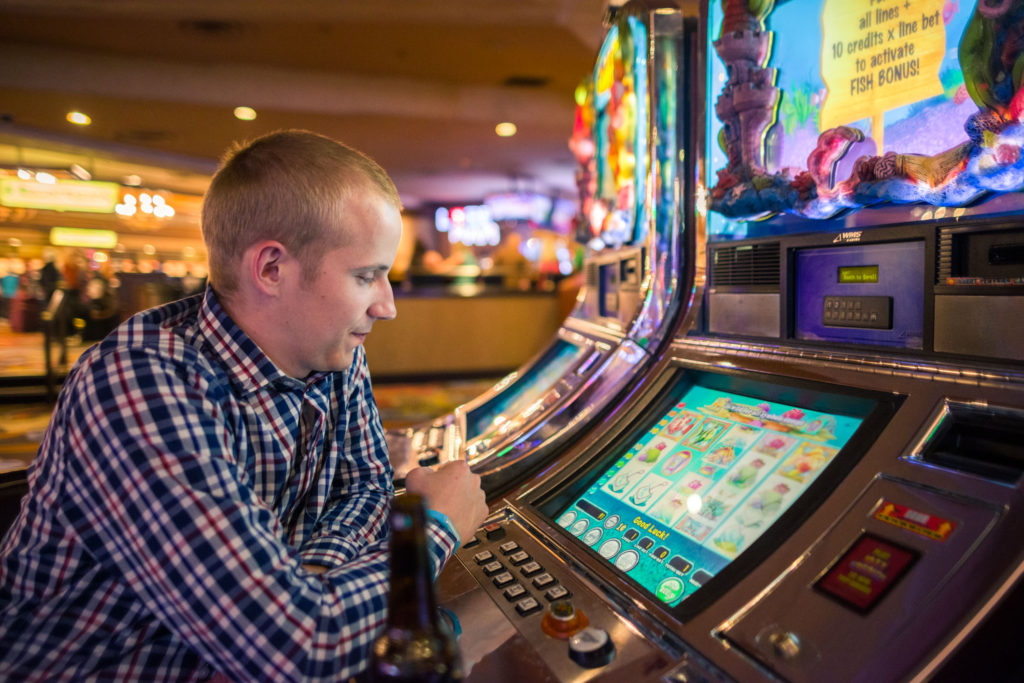 Blog z USA 2016 - gambling