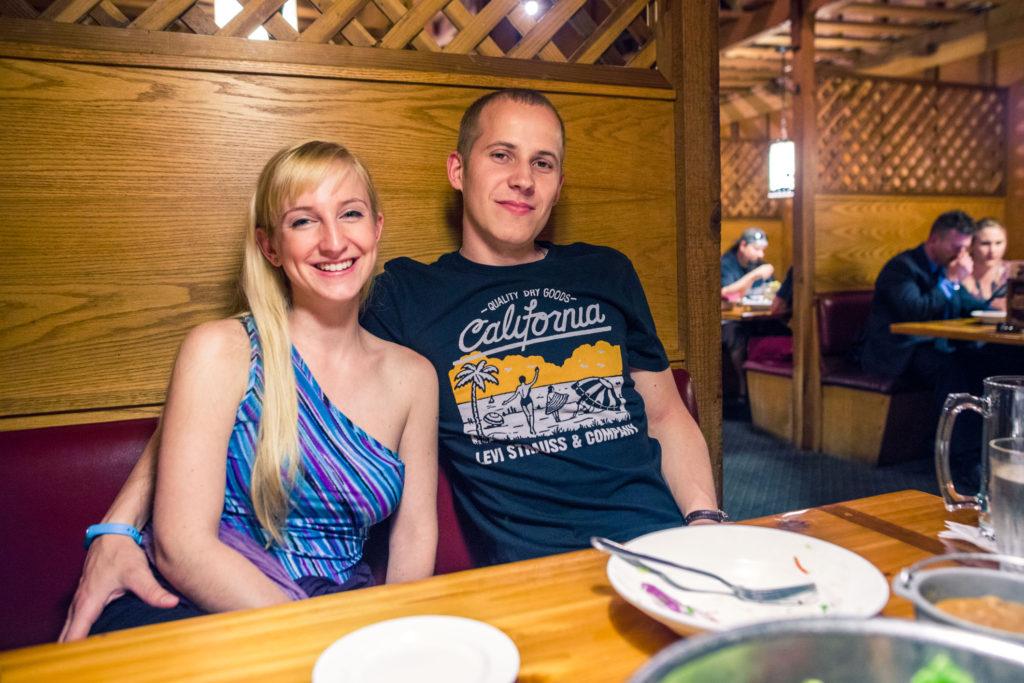 Blog z USA 2016 - V Cattlemans Steakhouse