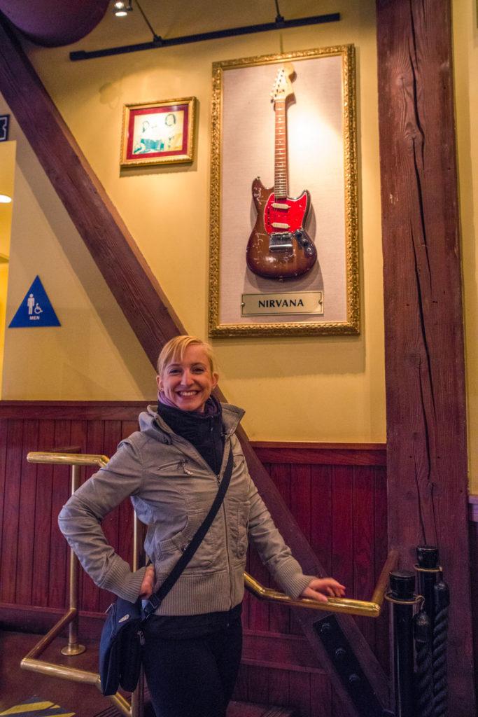 Blog z USA 2016 - San Francisco Hard Rock Cafe