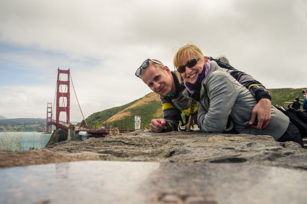 Blog z USA 2016 - Golden Gate Bridge