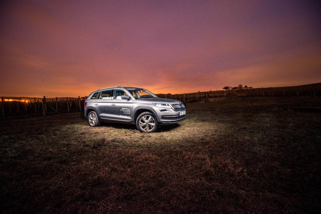 Škoda Kodiaq - jak fotit auta