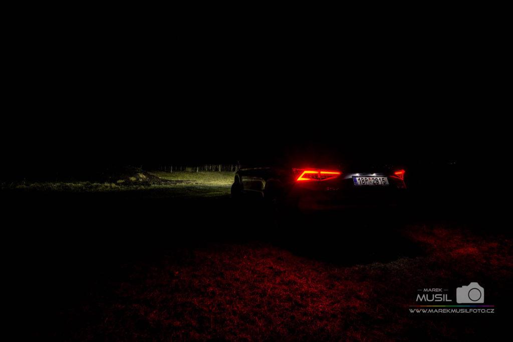 Škoda Kodiaq pouze zadní světla