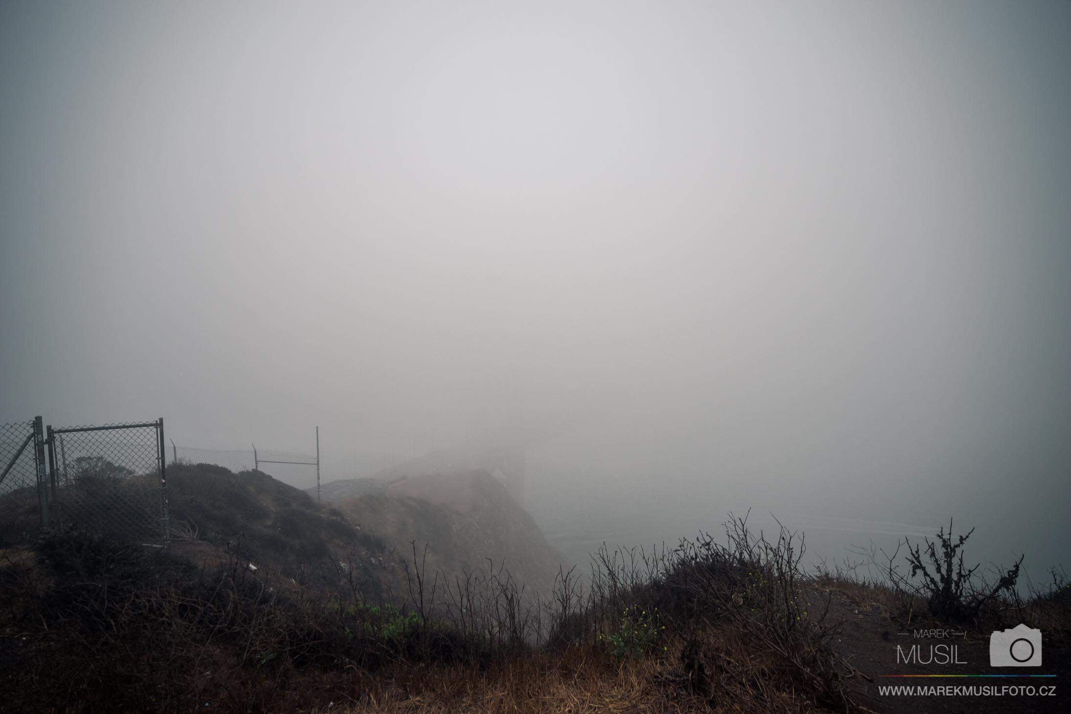 Výhled na Golden Gate Bridge.