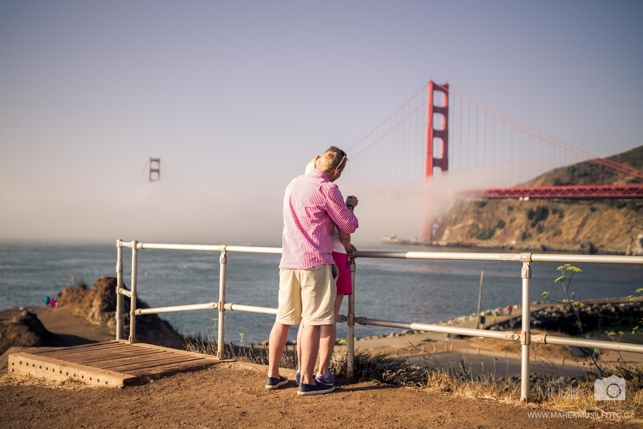 Žádání o ruku San Francisco.