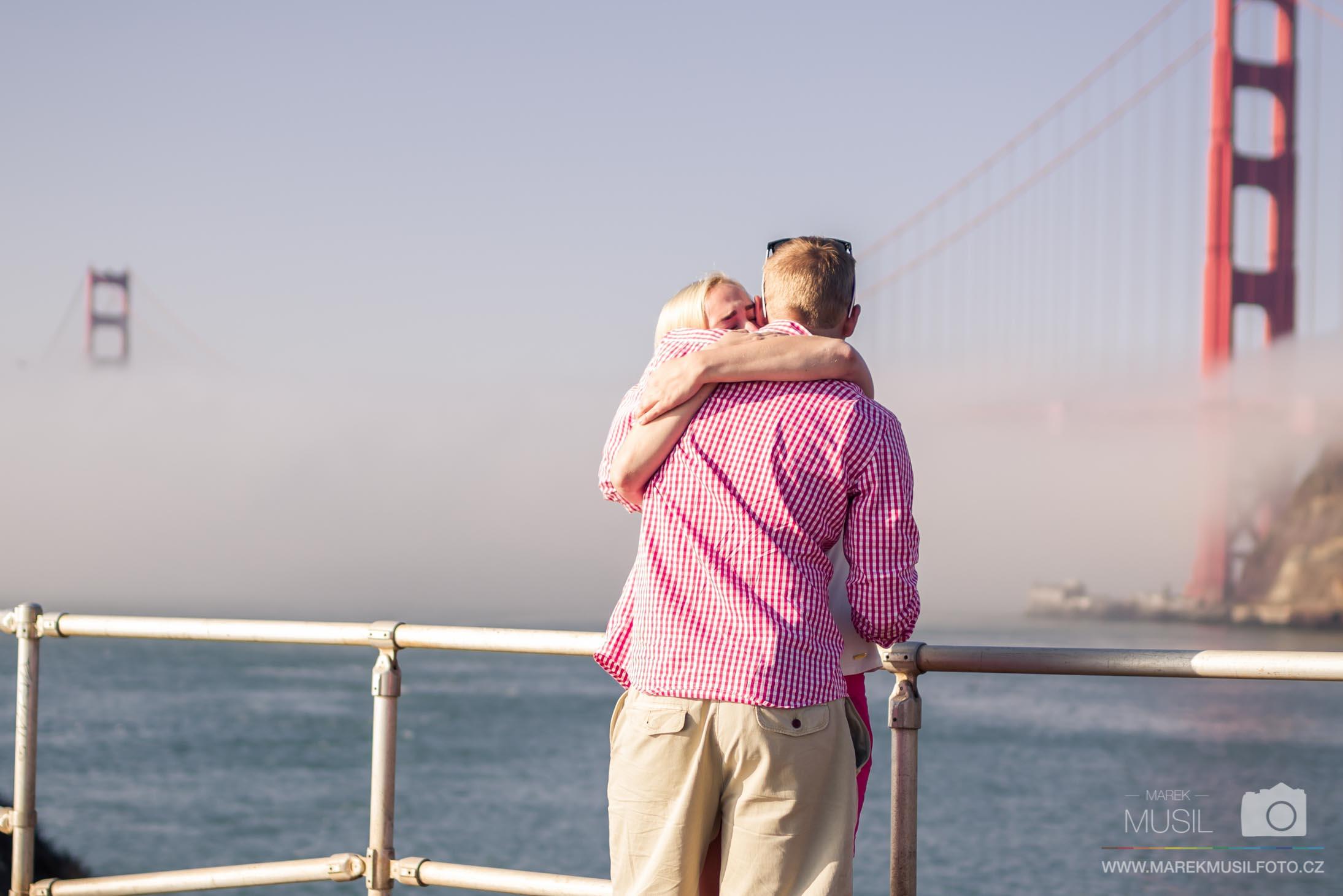 Žádost o ruku San Francisco.