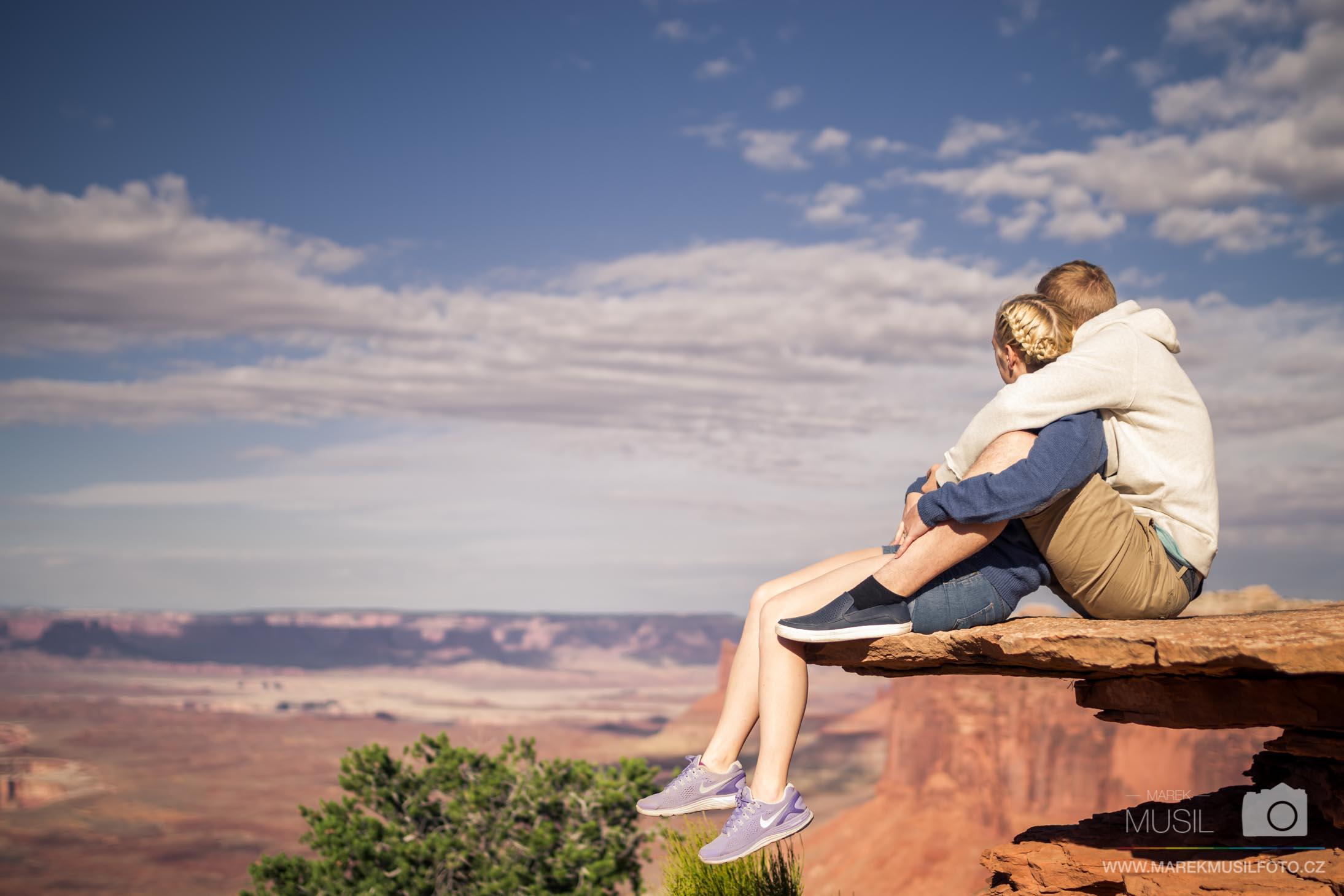 Orange Cliffs Overlook Canyonlands