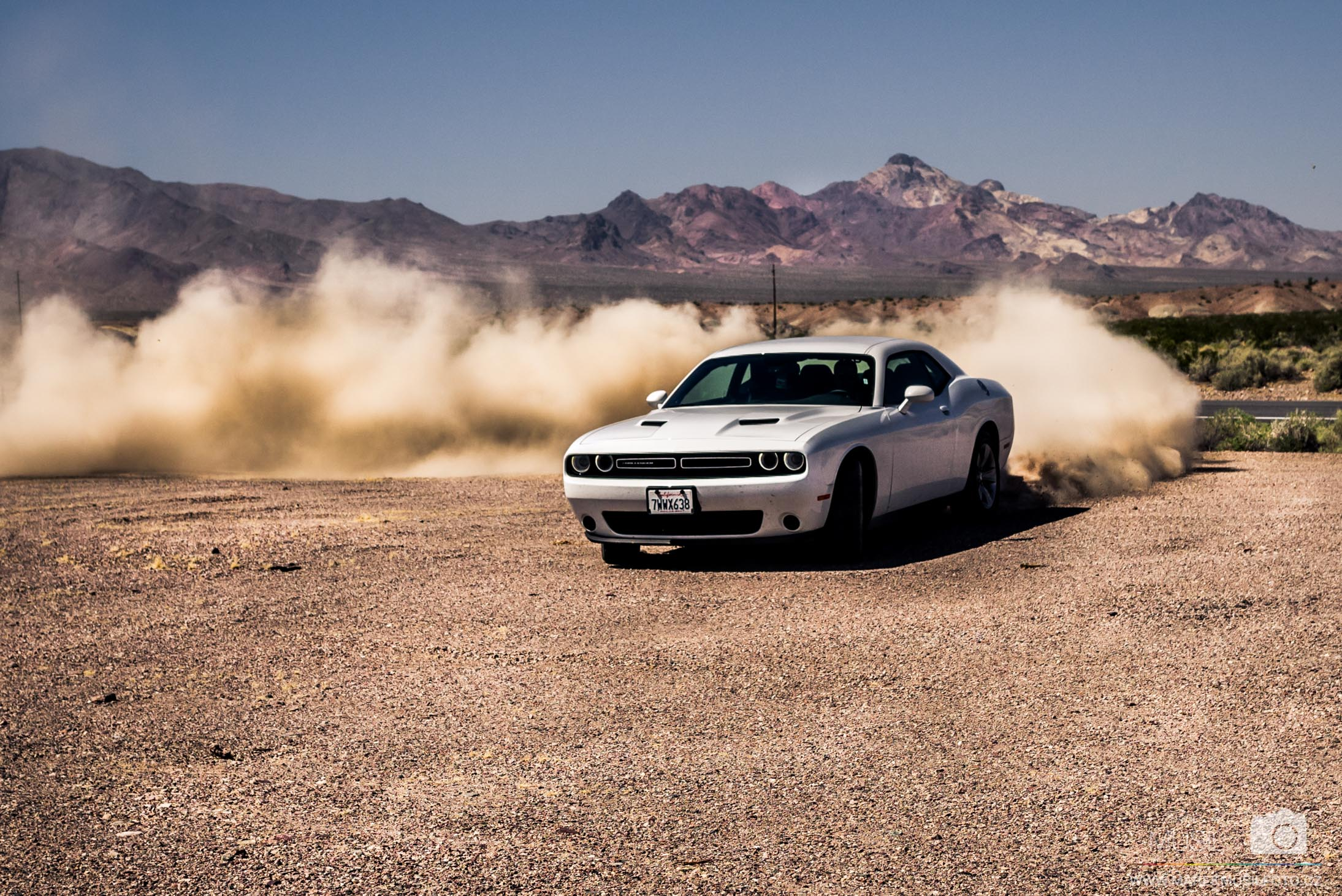 Dodge Challenger road trip