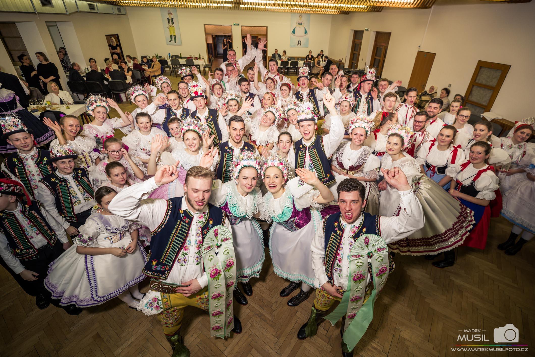 Nejlepší fotografie z plesu za rok 2018.